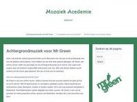 Screenshot van demozaiekacademie.nl