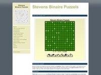 Stevens Binaire Puzzels