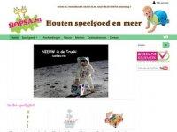 Hopsa - Houten speelgoed en meer