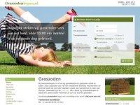 Screenshot van graszodenkopen.nl