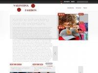 Screenshot van valentina-fashion.nl