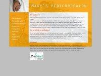 Masy pedicure