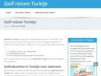 Golfvakantie Turkije