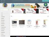 Screenshot van vogelartikelenwebshop.nl