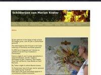 Schilderijen van Marian Koster