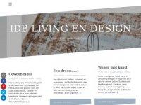 Screenshot van livingendesign.nl