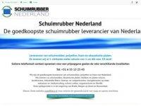Schuimrubber nederland
