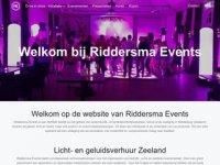 Screenshot van riddersmaevents.nl