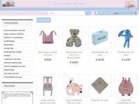 Screenshot van kraamcadeau-met-naam-baby.nl