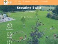 Screenshot van scoutingewijk.nl