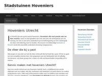 Stadstuinen Hoveniers Utrecht