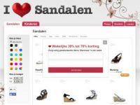 I Love Sandalen