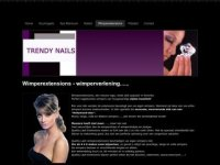 Trendy wimperextensions