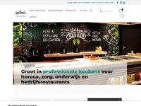Screenshot van vangestelhoreca.nl