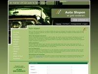 Auto slopen