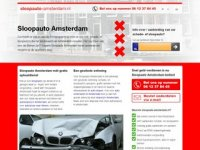 Sloopauto Amsterdam - autosloperij