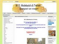 M. D. Modelauto's & Treinen