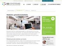 BB Systems - Mobiel Geluid