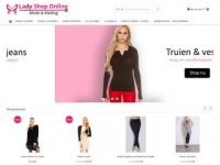Lady shop online