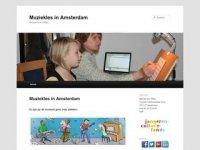 Muziekles in Amsterdam