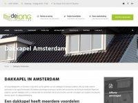 De Jong Dakkapellen Amsterdam
