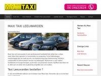 Taxi Leeuwarden - Maxi Taxi