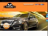 Screenshot van taxiinalmere.nl