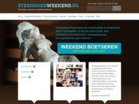 Screenshot van steengoedweekend.nl