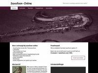 Saxofoon online