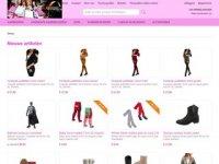 Screenshot van mini-jurken.nl