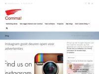 Comma! Meer omzet door internet