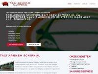 Taxi Schiphol Arnhem