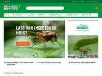 Screenshot van insect-free.eu