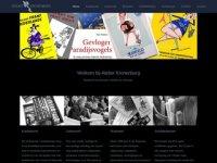 Screenshot van atelier-kronenburg.nl
