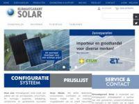 Zonnepaneelgroothandel Klimaatgarant