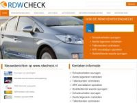 RDW Check - Autoverleden opvragen