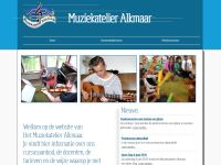 Screenshot van muziekatelieralkmaar.nl