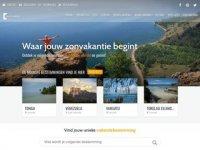 Screenshot van jouwzonvakantie.nl