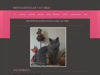 Brits Korthaar Cattery van M&M