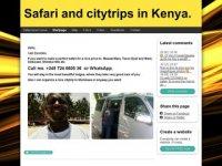 Safari and citytrips in Kenya
