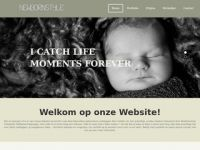 Screenshot van newbornstyle.nl