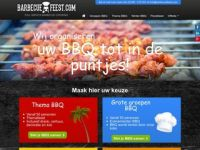 Screenshot van barbecuefeest.com