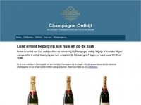 Champagne Ontbijtservice