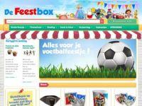 De Feestbox feestartikelen en feestversiering