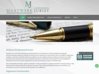 Maatwerk Jurist - Juridisch adviesbureau