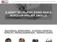 Screenshot van k-apart.nl