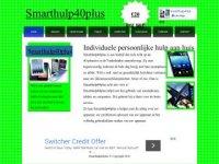 Screenshot van smarthulp40plus.nl/
