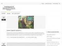 Jewelquest - Drie op een rij spelletjes