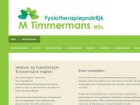 Fysiotherapie Mw. M. Timmermans, MSc. Veghel