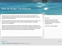 Dick de Ruiter Translations